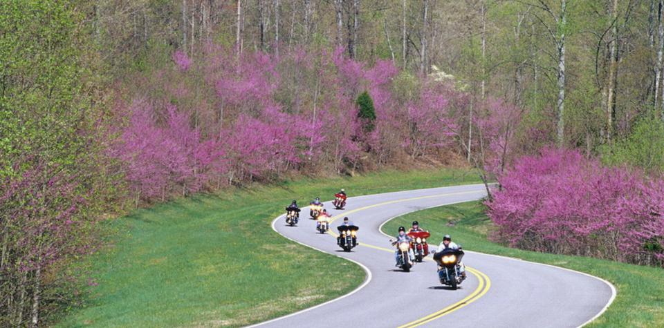 motorcycle natchez trace