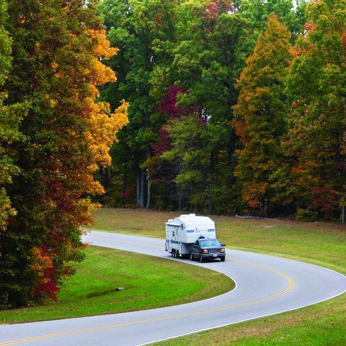 Fall Foliage along the scenic Trace