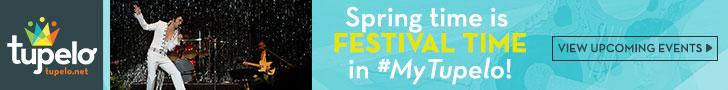 Tupelo Spring Events